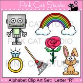 Alphabet Clip Art: Letter R - Phonics Clipart Set - Personal or Commercial Use