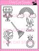 Alphabet Clip Art: Letter R - Phonics Clipart Set - Person