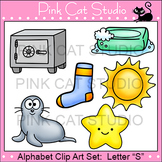 Alphabet Clip Art: Letter S - Phonics Clipart Set - Personal or Commercial Use
