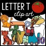 Alphabet Clip Art: Letter T