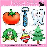 Alphabet Clip Art: Letter T - Phonics Clipart Set - Personal or Commercial Use
