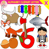 Alphabet Clip Art Letter X-Set