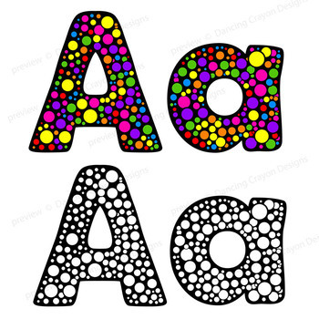 alphabet clip art letters circle fun bulletin board letters tpt rh teacherspayteachers com bulletin board borders clipart bulletin board ideas clipart