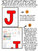 Alphabet Clip Art Lowercase Letters Editable