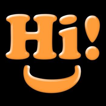 Alphabet Clip Art: Orange Plastic Sticker Letters Numbers & Symbols- 96 pc Set