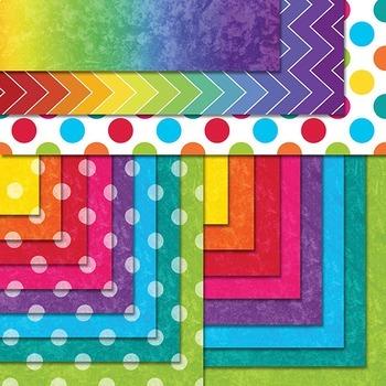Seller's Clip Art Kit (Rainbow)