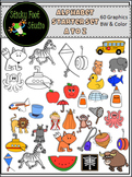 Alphabet Sounds Clip Art Starter Set - Beginning Sounds A to Z