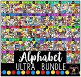 Alphabet Clip Art Ultra Bundle {Educlips Clipart}