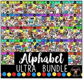 Alphabet Clip Art Ultra Bundle {Educlips Clipart}