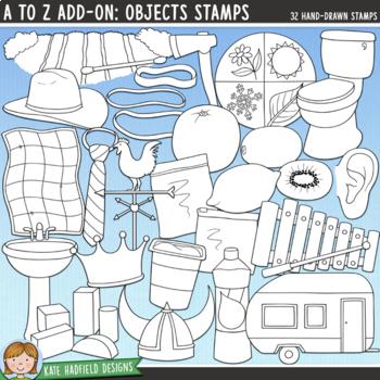 "Alphabet Clip Art add-on: ""Objects"""