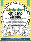 Alphabet Clip Card Activities
