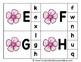Alphabet Clip Card Center Easy Prep for Uppercase & Lowercase Spring Flowers