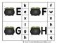 Alphabet Clip Card Center Easy Prep for Uppercase & Lowercase St. Patrick's