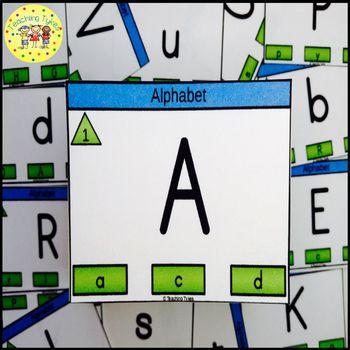Alphabet Clip Cards