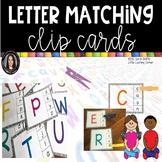 Alphabet Clip Cards * Letter Matching Center