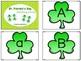 Alphabet Clip Cards - St. Patrick's Day Version