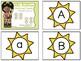 Alphabet Clip Cards - Summer Version