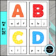 Alphabet Clip Cards – Uppercase, Lowercase, Letter Sounds, Beginning Sounds