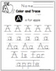 Alphabet Clip Cards and Worksheets