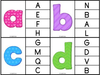 Alphabet - Clip Cards game #2