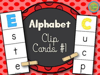 Alphabet - Clip Cards game #1