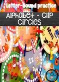Alphabet Clip Circles: Leter-Sound Practice