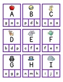 Alphabet Clip Game - Worksheets - EASEL Activities