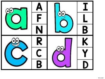 Alphabet Clip It