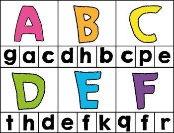 Alphabet Clip-It