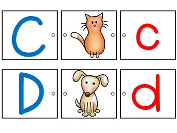 Alphabet Match: Link It