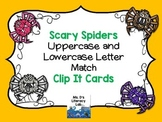 Alphabet Clip Cards (Spiders)