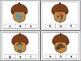 Autumn Acorn Clip Cards (Alphabet)