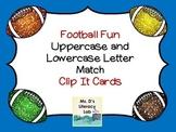 Alphabet Clip Cards (Football)