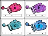 Alphabet Clip Cards (Mittens)