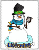 """""""Daily"""" Posters for Literacy (Snowmen)"""