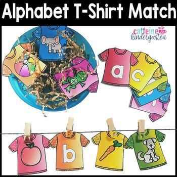 Alphabet Clip Matching Center