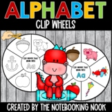 Alphabet Clip Wheels