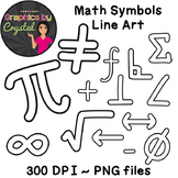 Math Clipart for coloring pages and bulletin boards Perfec