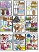 Alphabet Clipart Graphics-Letter Clipart Bundle 1 (A-M) Commercial Use