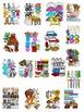 Alphabet Clipart Graphics-Letter Clipart Bundle 2 (N-Z) Commercial Use
