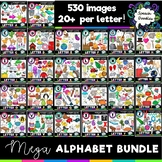 Alphabet Clipart Bundle - 520 images! Now complete!