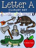 Alphabet Clip Art - Letter A
