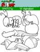 """Alphabet Clipart Letter """"A"""" Graphics - Clip art"""