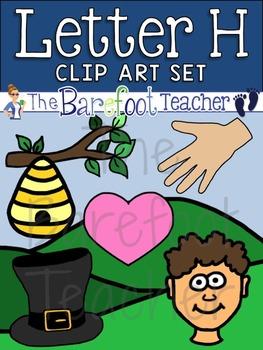Alphabet Clip Art - Letter H