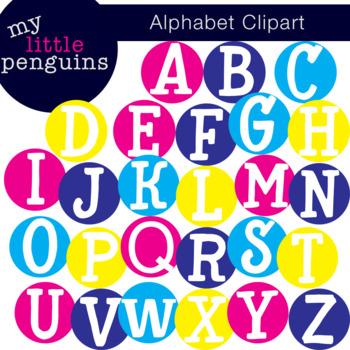 Alphabet Dot Clipart Letter Posters