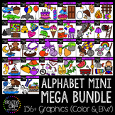 Alphabet Clipart Mini Mega Bundle {Creative Clips Clipart}