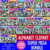 Alphabet Clipart Super Mega Bundle- Bolds Edition