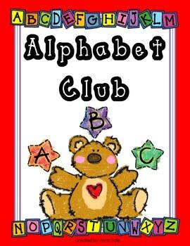 Alphabet Club (English & Spanish)