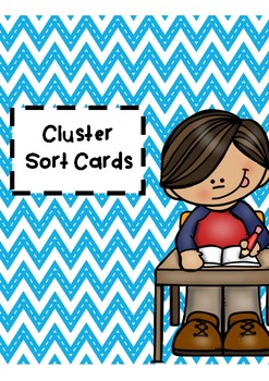 Alphabet Cluster Sort Cards