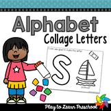 Alphabet Collage Letters